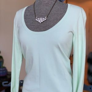 Theory Petite Mint Sweater All Seasons